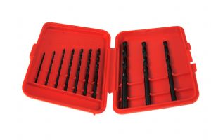 Austrian Made 10 Piece HSS, Woodwork, Metalwork Drill Bit Set Imperial 1/16 - 3/16. X1088